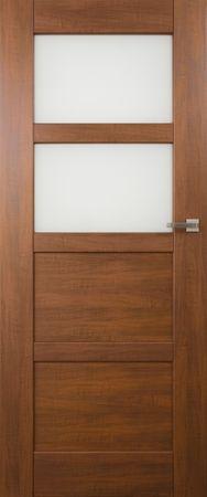 VASCO DOORS Interiérové dveře PORTO kombinované, model 3, Dub rustikál, D