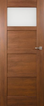 VASCO DOORS Interiérové dveře PORTO kombinované, model 2, Dub skandinávský, D