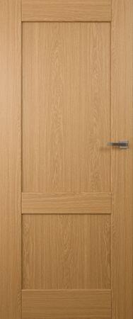 VASCO DOORS Interiérové dveře LISBONA plné, model 1, Dub rustikál, D