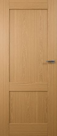 VASCO DOORS Interiérové dveře LISBONA plné, model 1, Ořech, B