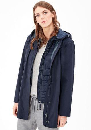 s.Oliver dámsky kabát 34 modrá - Parametre  5c1593f981d