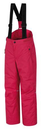 Hannah otroške smučarske hlače Amidala JR II, rdeče, 128