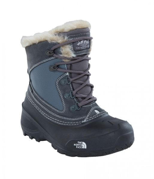 The North Face Y Shellista Extreme Zinc Grey / TNF White 32
