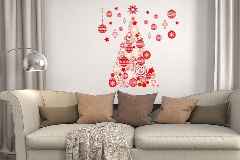 Walplus Vánoční stromeček - baňky