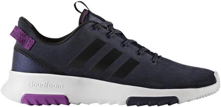 Adidas ženski športni copati CloudFoam Racer Tr, modro/črno/vijolični, 40,7