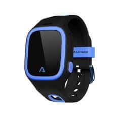 LAMAX WatchY - dětský náramkový telefon s GPS polohou, černý