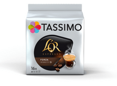 Jacobs TASSIMO L´Or Forza 2x 128 g
