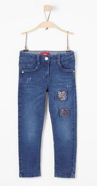 OLIVER dívčí kalhoty 134 modrá