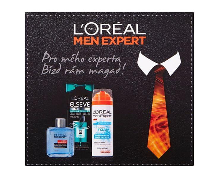 L'Oréal Dárková sada pleťové a vlasové péče Men Expert