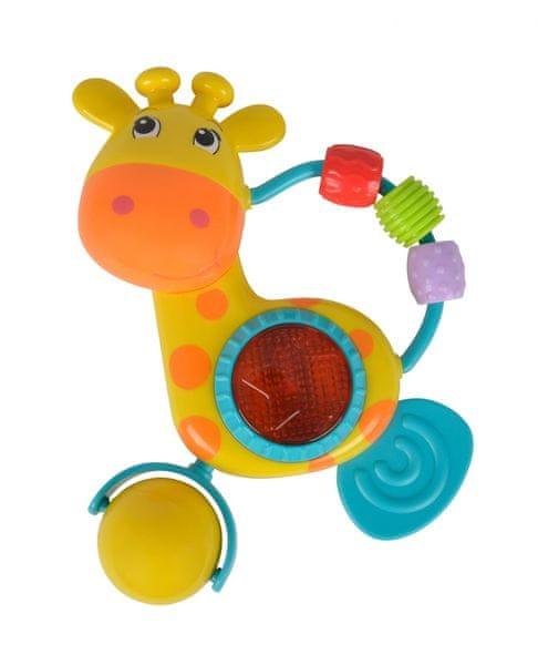Simba Chrastítko žirafa se světlem a zvuky