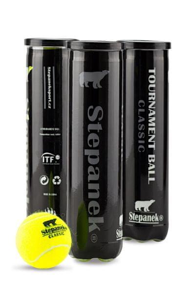 Stepanek Tenisové míče Stepanek Classic (4ks)