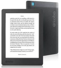 "Kobo E-bralnik Aura H2O 2nd EDITION, 17.2 cm (6.8"") Touch, 8GB WiFi, črn (N867-KU-BK-K-EP)"