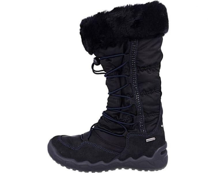 Primigi dívčí sněhule 39 černá