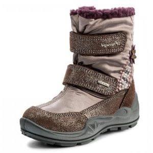 eabf4cfd6e3 Primigi dívčí zimní obuv 28 hnědá