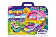 Zuru hrčji set Hamsters 2 z igralno hišico
