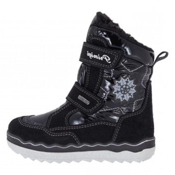 Primigi dívčí zimní obuv 27 černá