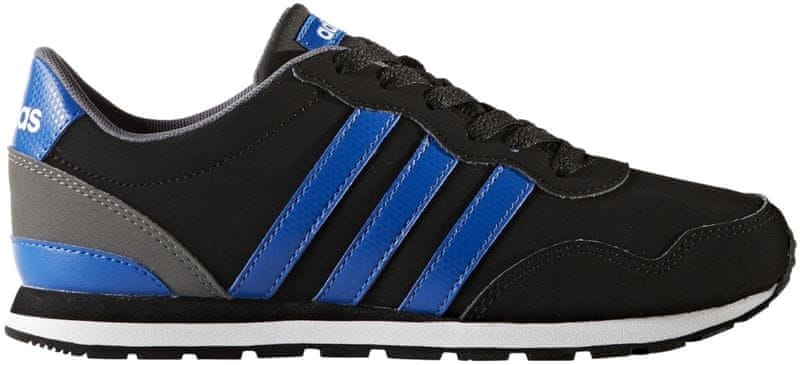 Adidas V Jog K Core Black/Blue/Ftwr White 35.5