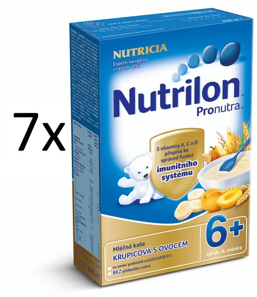 Nutrilon Mléčná kaše ovocná - 7 x 225g