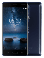 Nokia 8, 4GB/64GB, Single-SIM, Blue