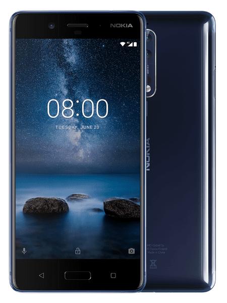 Nokia 8, 4GB/64GB, Dual-SIM, Blue