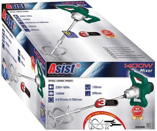 ASIST Míchač barev a malty AE1M140DN 1400 W