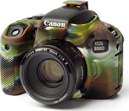 Easycover Reflex Silic Canon 800D Camouflage