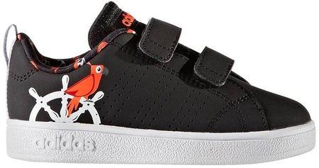 Adidas otroški športni copati VS Adv Cl Cmf Inf, črno/beli, 26
