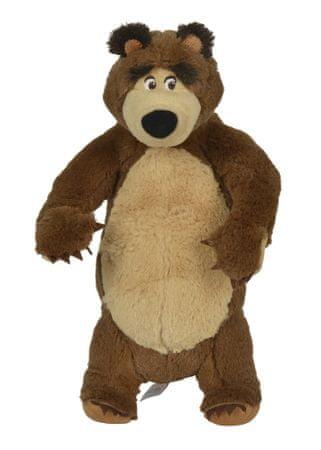 SIMBA Masza i Niedźwiedź - Pluszowy Niedźwiedź stojący, 25 cm