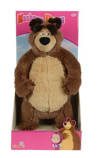 Simba Máša a medvěd - Plyšový medvěd stojící 25 cm