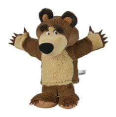 Simba Máša a medvěd - Maňásek medvěd Míša 28 cm