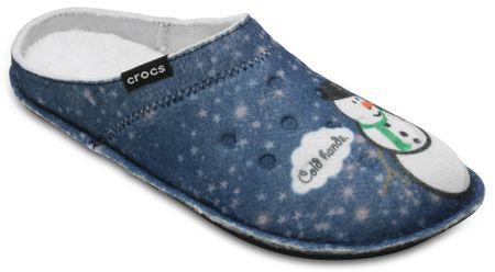 Crocs kapcie Classic Graphic Slipper Navy 37,5