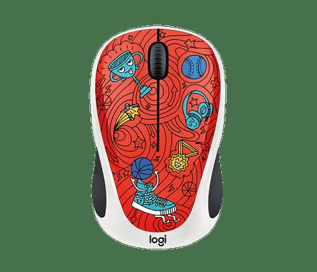 Logitech miška M238 Wireless, Champion Coral