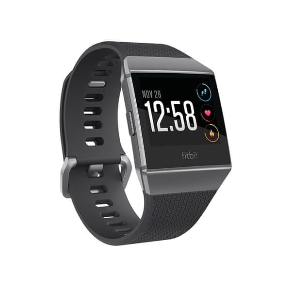 Fitbit Ionic - Chytré hodinky - Charcoal/Smoke Gray