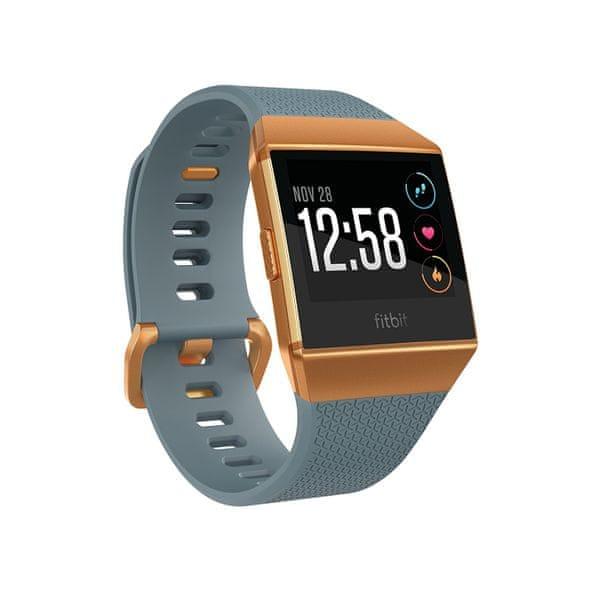 Fitbit Ionic - Chytré hodinky - Slate Blue/Burnt Orange