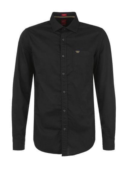 s.Oliver pánská košile M černá