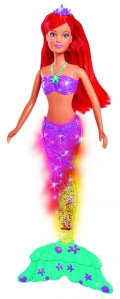 Simba Panenka Steffi - Mořská víla, světelný efekt