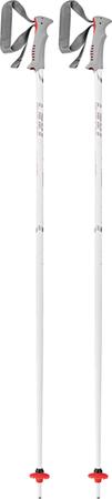 Leki smučarske palice Vista, belo-sive, 130