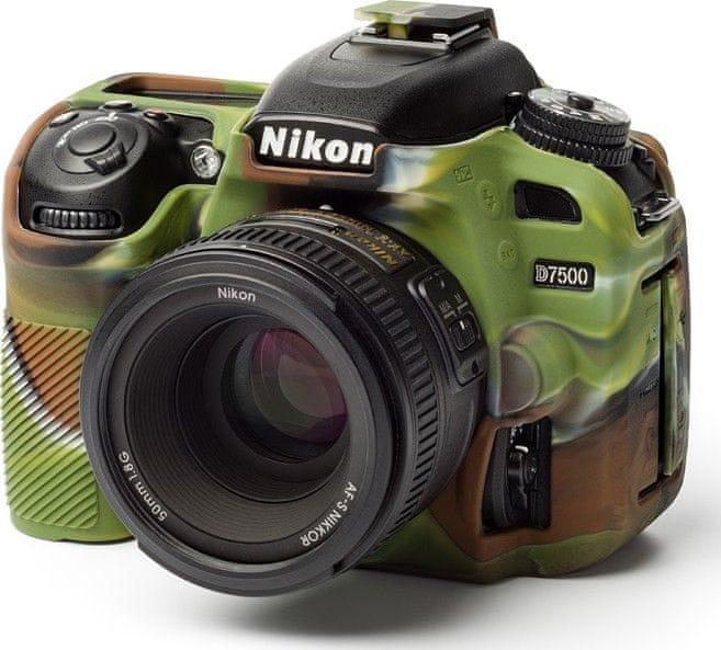 Easycover Reflex Silic Nikon D7500 Camouflage