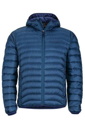 Marmot moška zimska puhovka Tullus Hoody, modra, L