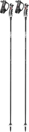 Leki smučarske palice Carbon 11 S, črno-bele, 130