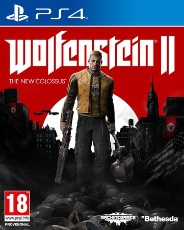 Bethesda Softworks Wolfenstein II: The New Colossus (PS4)