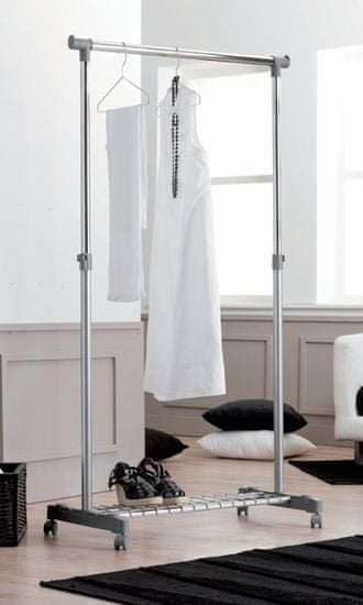Compactor stojak na ubrania Stender Loft z miejscem na buty