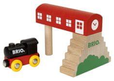 Brio 33615 Nádraží a lokomotiva