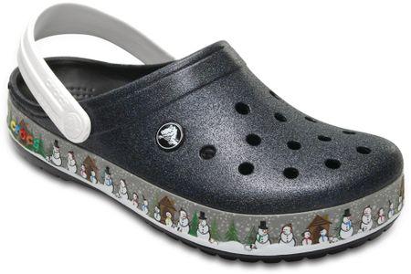Crocs natikači Crocband Holiday Clog Black, 37,5