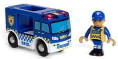 Brio WORLD 33825 Policejní dodávka