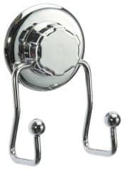 Compactor Dvojitý háček do koupelny bez vrtání
