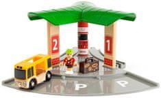 Brio WORLD 33427 Busz és vasútállomások