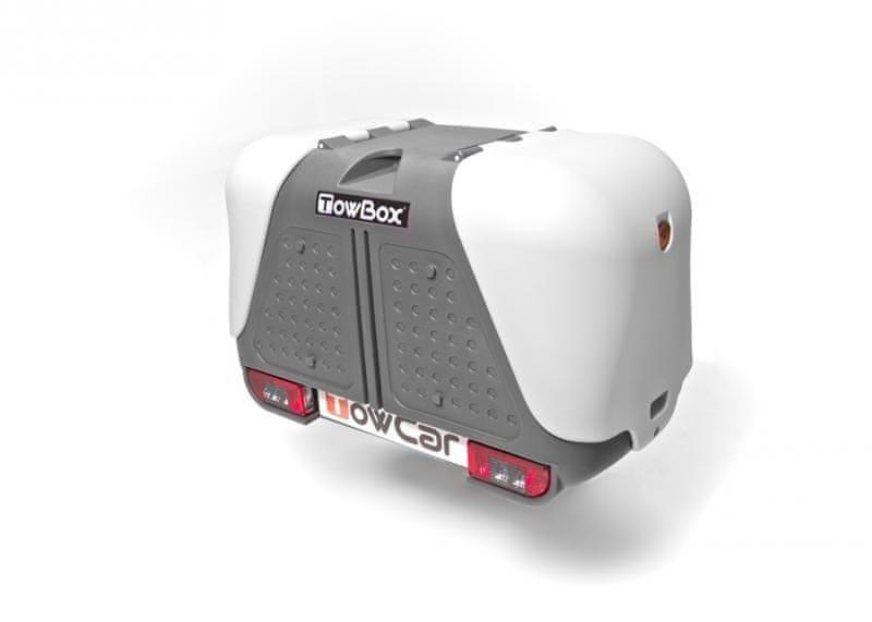 TowBox V2 box na tažné zařízení - šedá