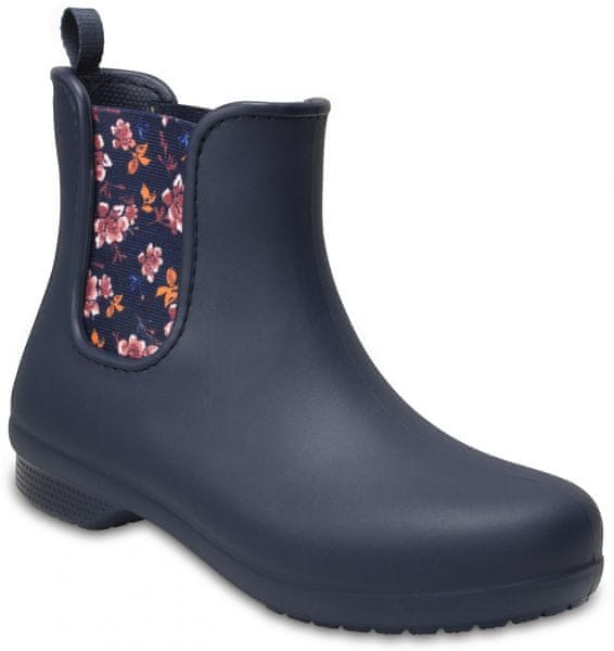 Crocs Freesail Chelsea Boot W Navy/Floral 37,5