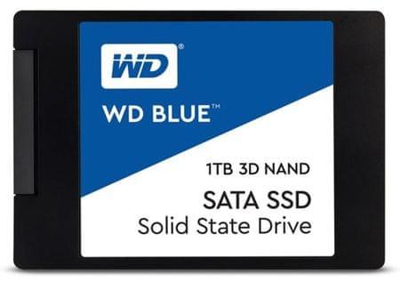 """WD SSD disk SATA 3 1 TB BLUE 3D NAND 6,35(2,5"""") (WDS100T2B0A)"""
